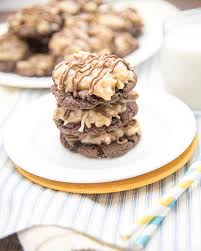 german chocolate cake cookies like mother like daughter