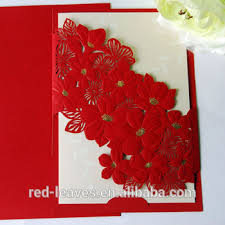 marriage card laser cut flower wedding card design foilding wedding