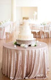 wedding linen wedding cake table with ivory sequence linen archives