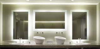 Lighted Mirror Bathroom Lighted Bathroom Mirrors Lighted Bathroom Mirror Powder Room With