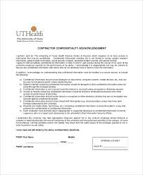 confidentiality clause contract cvletter csat co