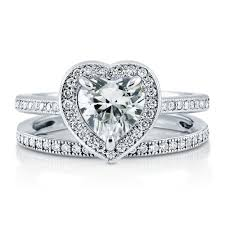 heart bridal rings images Wedding rings amazing heart shaped wedding ring sets designs jpg