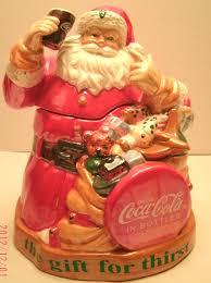 coca cola holiday cookie jar coca cola coke coca cola coca cola