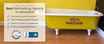 Yellow Bathtub Bathtub Refinishing Tub Reglazing Baltimore