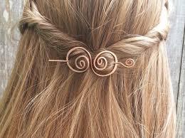 hair barrette hair barrette copper hair bow spiral hair clip wire hair pin