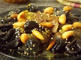 cuisine marocaine tajine agneau tajine hlou aux pruneaux plat ramadan le cuisine de samar