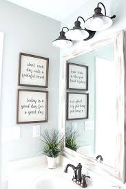 Wall Decor For Bathroom Typography Signs From Cast Off Art Bathroom