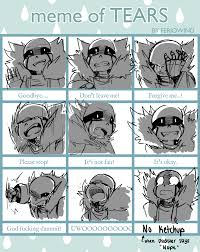 Tears Meme - meme of tears ganz by golzyblazey deviantart com on deviantart