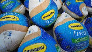the 3 500 butterball turkey stock nov 26 2014