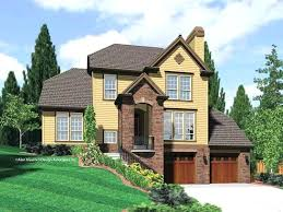 house plans with garage underneath drive under garage house plans front drive thru garage house plans