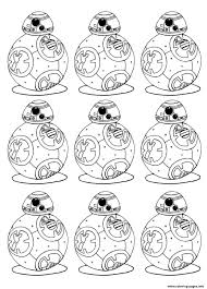 bb 8 star wars 7 the force awakens bb8 robot coloring pages