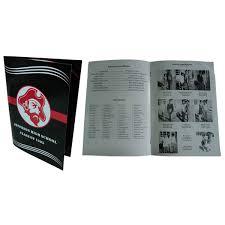 cheap class reunion memory book program event brochure template