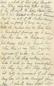 esther and eva hart u0027s letter written on titanic was penned hours