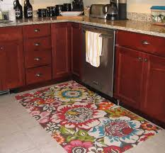 kitchen accessories floral patterned decorative kitchen floor