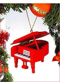 grand piano tree ornament by broadway gift co uk
