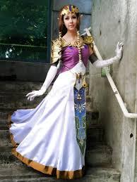 Galadriel Halloween Costume Legend Zelda Twilight Princess Halloween Cosplay Costume