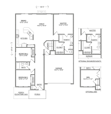 Home Floorplan by The Hudson New Homes For Sale Wa Id Or Hayden Homes