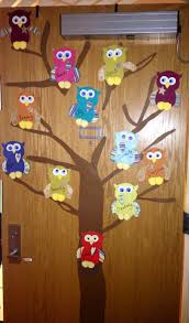 Owl Decorations by 39 Fall Door Decorations With Owls Wreath Fall Wreath Owl