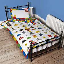 Lego Bed Frame Lego Single Duvet Cover And Pillowcase Set At Lewis