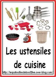 lexique de cuisine lexique des mots employés pour faire la cuisine les ustensiles les