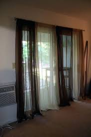 Curtains For Front Doors Kitchen Patio Door Curtains Dark Wood Floor Dining Room Idea In
