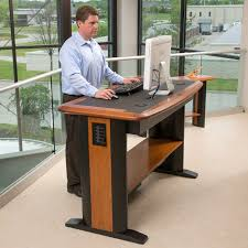 Stand Up Computer Desk Adjustable Standing Desk Adjustable Desk Would You Use A Stand Up Computer