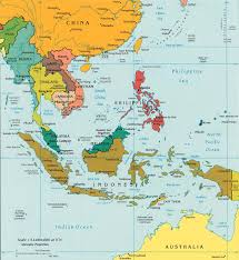 Map Of Malaysia Map Of Southeast Asia Indonesia Malaysia Thailand On China