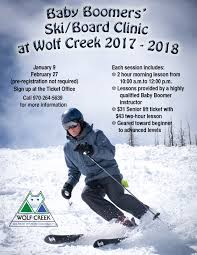 special clinics u0026 programs wolf creek ski area coloradowolf