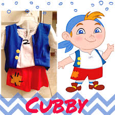 boys pirate halloween costume cubby no sew costume for jake and the neverland pirates birthday