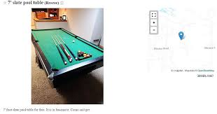 craigslist pool table movers craigslist pool table free things on that could be gifts craigslist