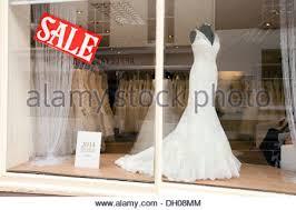 Wedding Dresses Norwich Wedding Dresses In The Window Of A Bridal Shop Belfast City Centre