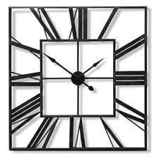 large outdoor garden wall clock big arabic numerals giant open