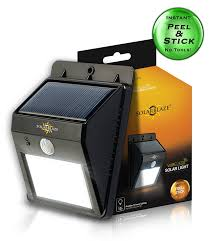 bright light solar solarblaze bright solar led lights motion sensor