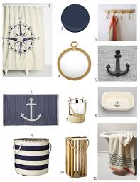 Nautical Bathroom Decor by Nautical Bathroom Inspiration Nautical Bathrooms And Bathroom