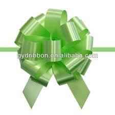 plastic ribbon sp handmade blue pull bow ribbon plastic ribbon pull bow for