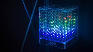 led cubes 8x8x8 programmable led cube