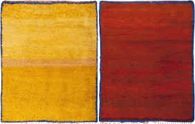 Modern Yellow Rug by Modern Moroccan Carpet 45685 By Nazmiyal