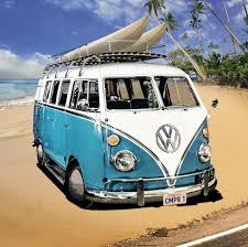 camper van wall art ebay vw camper van stretched canvas wall art poster print beach surfing beetle car