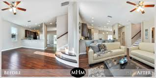 before and after staging mhm professional staging