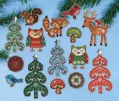 cross stitch ornaments
