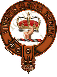 clan robertson family crest coat of arms by andrew mcnaughton
