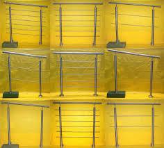 bausatz treppe edelstahl geländer handlauf treppengeländer balkongeländer v2a