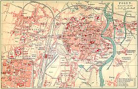 Breslau Germany Map by Posen City Prussia 3423 2197 Old German Maps Pinterest