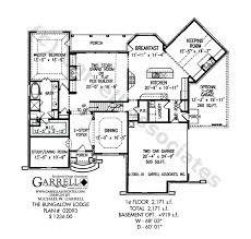 craftsman cottage floor plans bungalow lodge house plan active house plans