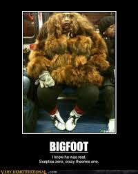 Funny Meme Posters - bigfoot very demotivational demotivational posters very