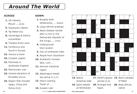 printable easy crossword puzzles with solutions new easy printable crossword puzzles template design