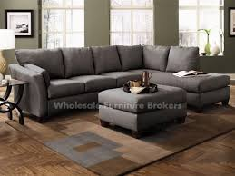 Gray Microfiber Sectional Sofa Stunning Gray Sectional Sofas With Chaise Photos Liltigertoo