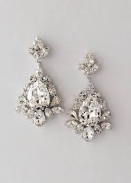 pear drop earrings bridal jewelry collection marlena dupelle
