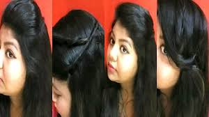 Simple And Easy Hairstyles For Office by 4 Easy And Simple Hairstyle For Beginners College Work