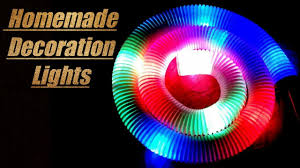 Home Decoration Ideas For Diwali How To Make Home Decoration Lights At Home Easy Diwali Ganpati